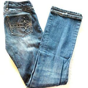 Rock 47 by Wrangler Women's Jeans Size W1/2 X L34